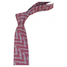 Regali Collections Multi Abstract Woven Necktie