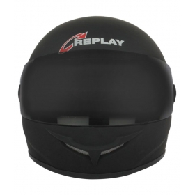 Replay Helmets Leo Matt Black - Full Face Helmet Black M