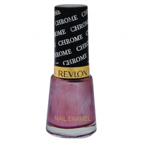 Revlon Chrome Nail Enamel Nail Polish Brown Rust Chrome Glossy 8 Ml