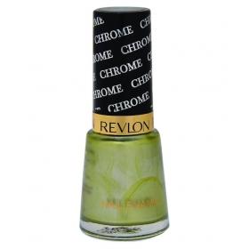 Revlon Chrome Nail Enamel Nail Polish Green Leaf Chrome Glossy 8 Ml