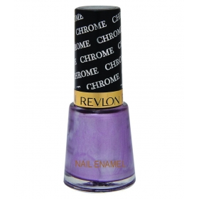 Revlon Chrome Nail Enamel Nail Polish Purple Mulberry Chrome Glossy 8 Ml