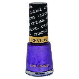 Revlon Chrome Nail Enamel Nail Polish Purple Wine Chrome Glossy 8 Ml