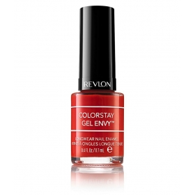 Revlon Colorstay Gel Envy Long Wear Nail Polish Red Get Lucky Glossy 11.7 Ml