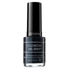 Revlon Colorstay Gel Envy Long Wear Nail Polish Black Blackjack Glossy 11.7 Ml
