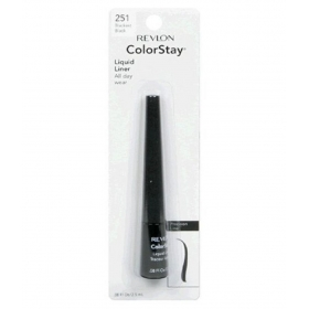 Revlon Colorstay Liquid Liner Pencil Eyeliner Blackest Black 0.08 Fl Oz