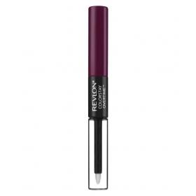 Revlon Colorstay Overtime Lipcolor Lipstick Perennial Plum 2 Ml