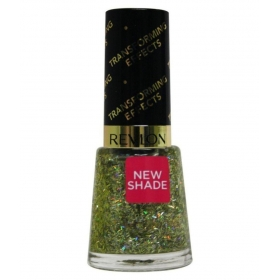 Revlon Nail Enamel Nail Polish Golden Green Golden Green Glitter 8 Ml