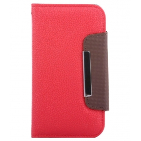 Rka Flip Cover For Samsung Galaxy Core Prime Sm-g360-red