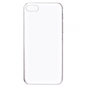 Plain Back Cover For Apple Iphone 5s - Transparent