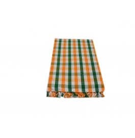 Tidy Multi Colour Checked Design 100% Exclusive Cotton Bath Towel - Pack 1 Piece