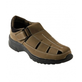 Roony Fit Olive Green Fisherman Sandals