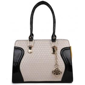 White P.u. Shoulder Bag