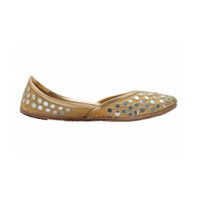 Collection Gold Ethnic Footwear