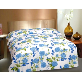 CTM TEXTILE MILLS 100% COTTON PIGMENT SINGLE BEDSHEET WITHOUT PILLOWCOVER HIGH WASH FASTNESS AND SOFT FINISH