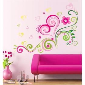 Ay7204 Dynamic Designs Nature Wall Sticker  Jaamso Royals