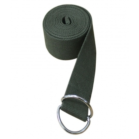 8 Ft Premium Cotton Yoga Strap - Perfect For Stretching, Holding Poses, Improving Flexibility & Physical Thearpy