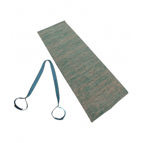 Cotton Handwoven Yoga Exercise Mat,mat Carry Strap Combo Offer