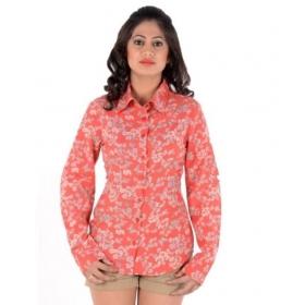 Cotton Blend Shirts For Women