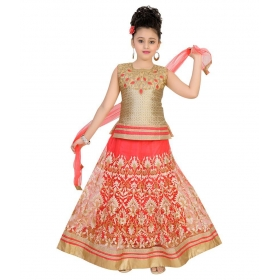 Multicolour Lehenga Choli Set