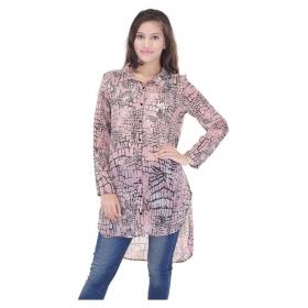 Fashion Multi Color Georgette Tunics