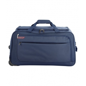 Blue Solid Duffle Bag