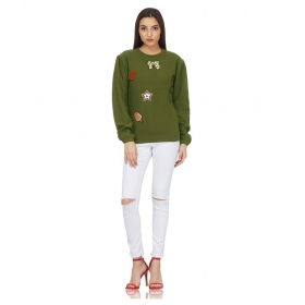 Cotton Khaki Pullovers
