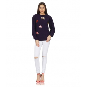 Cotton Purple Pullovers