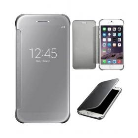 Samsung Galaxy A7 2016 Flip Cover By R K Retailer - Silver