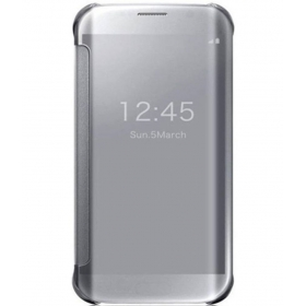 Samsung Galaxy A9 Pro Flip Cover By Nxg4u - Silver