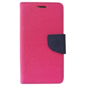 Samsung Galaxy J2 (2016) Flip Cover By Kosher Traders - Pink