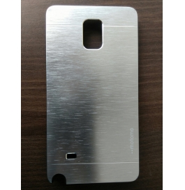 Samsung Galaxy Note 4 Silver Back Cover