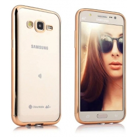 Samsung Galaxy On7 Pro Cover By Galaxy Plus - Golden