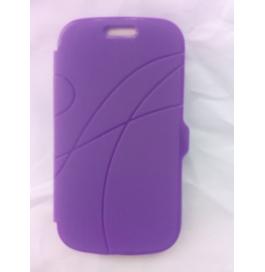 Samsung Galaxy S7562 Purple Flip Cover
