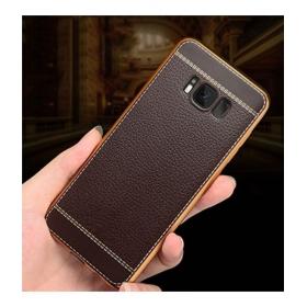 Samsung Galaxy S8 Plain Cases Kolorfish - Brown