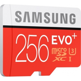 Samsung Evo Plus 256 Gb Microsdxc Class 10 95 Mb/s Memory Card(with Adapter)