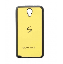 Samsung Note3  Back Cover Yellow