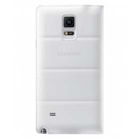 Samsung S-view Flip Cover Case For Galaxy Note 4 (frost White)