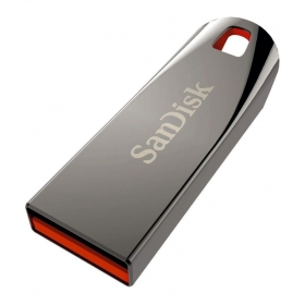 Sandisk Cruzer Force 16 Gb Pen Drives Gray