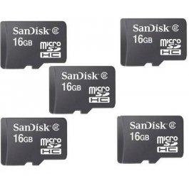Sandisk 16 Gb Memory Card Combo Set