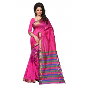 Sandy Kery Pink Saree