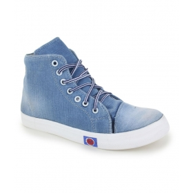 Blue Denim Sneakers