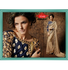 Sas Creations Net Cream Saree