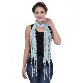 Scarves & Glitters Turquoise Scarves