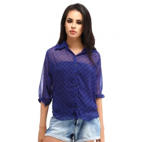 Poly Georgette Shirt