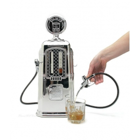 Abs Plastic Chrome Plated Double Gas Pump Liquor Dispenser