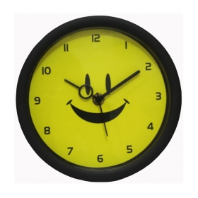 Circular Analog Wall Clock 18 Cms - Pack Of 1
