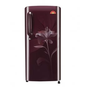 Lg 190 L Single Door Refrigerator (scarlet Liley) - Gl-b201asln