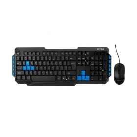 Intex Duo 315 Usb Keyboard & Mouse Combo With Wire