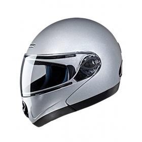Studds - Full Face Helmet - Ninja 2g Flipup (silver Gray) [extra Large - 60 Cms]