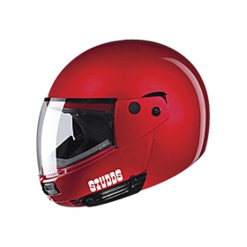 Studds - Full Face Helmet - Ninja Pastel Plain Flipup (cherry Red) [extra Large - 60 Cms]